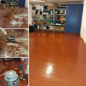 pulitura pavimento ceramica